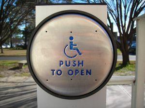 Image result for handicap door button energy waste & Energy Saving Tip: Mindful use of Handicap Door Buttons ... Pezcame.Com